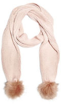 G by Guess GByGUESS Women's Knit Pom Scarf