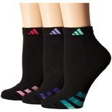 adidas Cushioned Variegated 3-Pack Low Cut Socks Women's Low Cut Socks Shoes