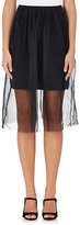 Gary Graham Women's Layered Silk A-Line Skirt