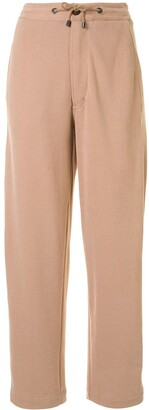 Brunello Cucinelli Straight-Leg Track Trousers