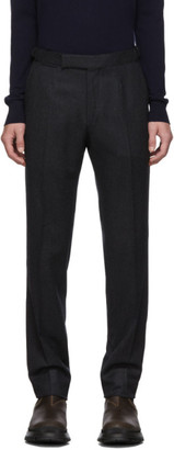 Ermenegildo Zegna Grey Wool Trousers