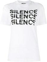 McQ by Alexander McQueen Silence T-shirt - women - Cotton - XS
