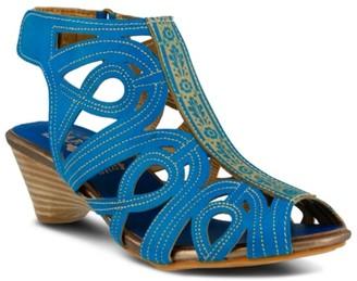 Spring Step Flouish Sandal