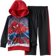 Spiderman Full-Zip Hoodie & Pants Set - Toddler Boy