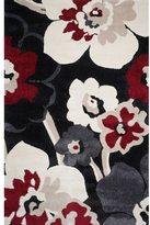 Christopher Knight Home Verna Miranda Black Floral Frieze Rug (5' x 8')