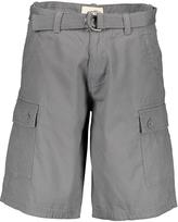 OTB Light Gray Twill Cargo Shorts & Belt - Men's Regular