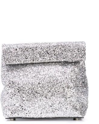 Simon Miller Small Lunch glitter bag