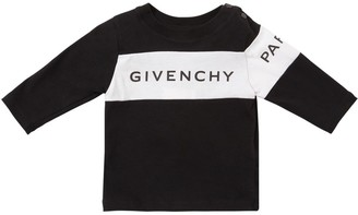 Givenchy LOGO BAND COTTON JERSEY T-SHIRT