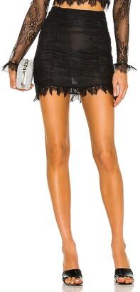 NBD Hanna Lace Mini Skirt