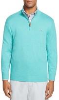 Vineyard Vines Pima Cotton Quarter Zip Sweater