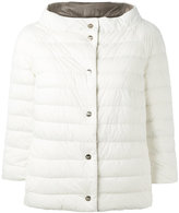 Herno reversible puffer jacket - women - Feather Down/Polyamide/Polyurethane - 38