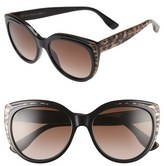 Jimmy Choo 'Nicky' 56mm Cat Eye Sunglasses