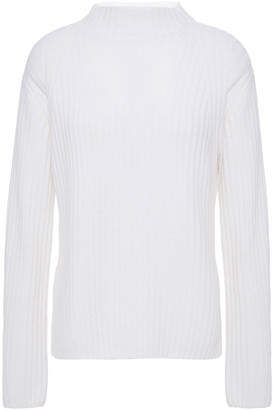 Vince Ribbed Wool And Cashmere-blend Sweater