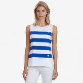Nautica Striped Sleeveless Top