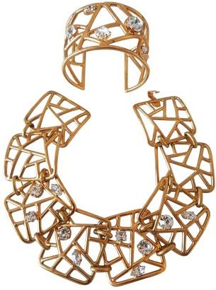 Jean Louis Scherrer Jean-louis Scherrer Gold Metal Necklaces
