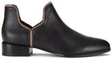 Senso Women's Bailey VIII Leather Ankle Boots Ebony