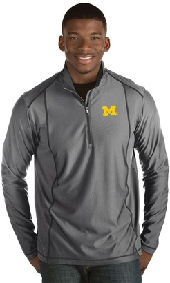Antigua Men's Michigan Wolverines Tempo Pullover