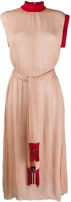 Couture Atu Body colour-block midi dress