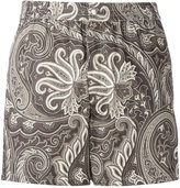 Brioni printed swimming shorts - men - Cotton/Polyamide - XS
