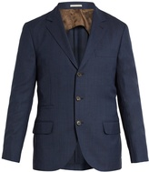 Brunello Cucinelli Single-breasted wool blazer