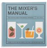 Chronicle Books The Mixers Manual: The Cocktail Bible For Serious Drinkers Recipe Book
