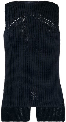 Eudon Choi Debbie chunky knitted top