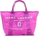 Marc Jacobs large logo print tote - women - Nylon - One Size