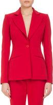 Altuzarra Acacia One-Button Jacket, Orange
