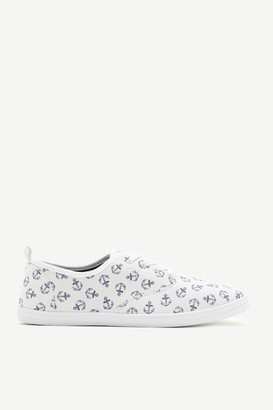 Ardene Nautical Laced Sneakers