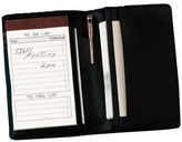 Royce Leather Deluxe Note Jotter Organizer 725-5