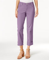 Style&Co. Style & Co Curvy Cuffed Capri Jeans, Only at Macy's