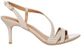 Calvin Klein Lorren1 Cocoon Laquered Snake Sandal