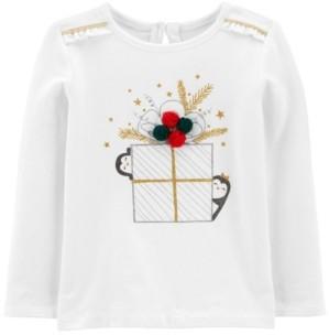 Carter's Toddler Girl Christmas Jersey Tee