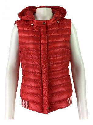 Herno Red Coat for Women