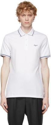 Ermenegildo Zegna White Stretch Cotton Polo