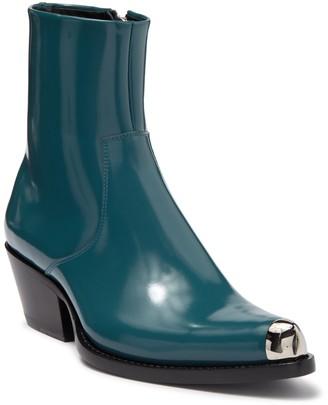 Calvin Klein Tex Leather Boot