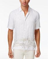 Tasso Elba Men's Textured Scenic Print Shirt, Created for Macy's