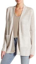 Joie Kamie B Linen Blend Open Knit Cardigan