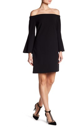 Cece By Cynthia Steffe Hadley Off-the-Shoulder Bell Sleeve Dress