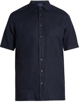 Etro Short-sleeved Linen Shirt
