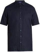 Etro Short-sleeved linen shirt