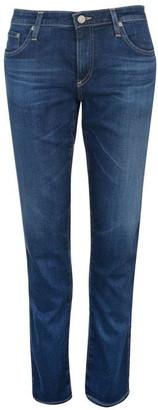 AG Jeans AGed Womens The Stilt Cigarette Leg Jeans