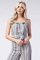 Honey Punch Stripe Ruffle Top