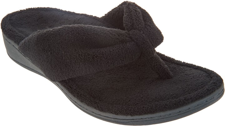 Vionic Terry Thong Slippers - Gracie