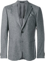 Z Zegna deep V-neck blazer - men - Cupro/Wool/Polyimide - 46