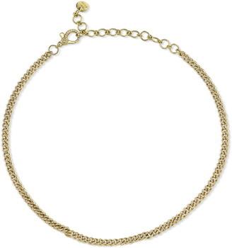 Shay Baby Link Diamond Pave Chain Choker