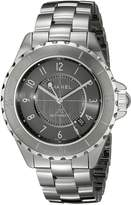 Chanel Women's H2934 Analog Display Automatic Self Wind Grey Watch