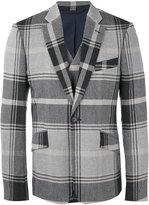 Vivienne Westwood notched lapel plaid blazer - men - Cotton/Polyamide/Spandex/Elastane/Viscose - 46