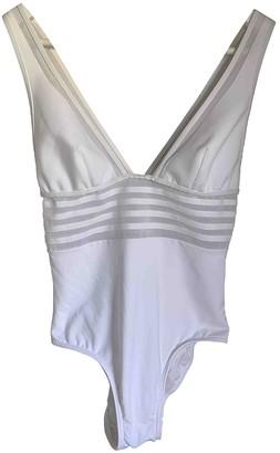 La Perla White Cotton - elasthane Swimwear for Women