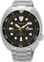 Seiko Mens Stainless Steel Automatic Diver Bracelet Watch